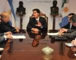 Capitanich firmó el convenio con Vetorial.